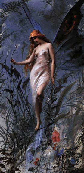 exhale the fire within . . . the lily faery welcomes her children into the twilight of myth and muse . . .